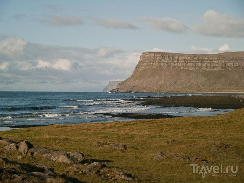 Совершенно безлюдные берега Исландии / Фото из Исландии