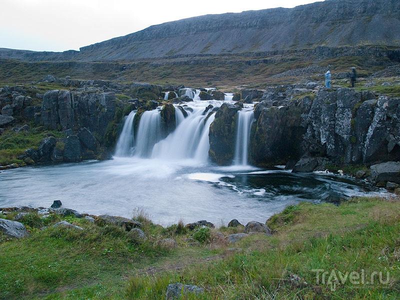 Нижний порог подопада Диньянди / Фото из Исландии