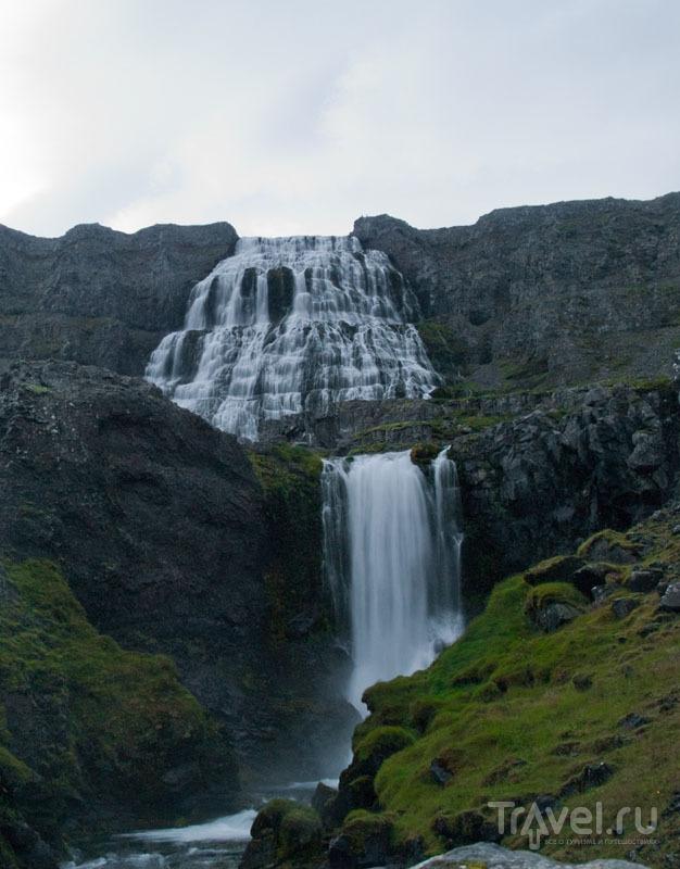 Водопад Диньянди во всей красе / Фото из Исландии
