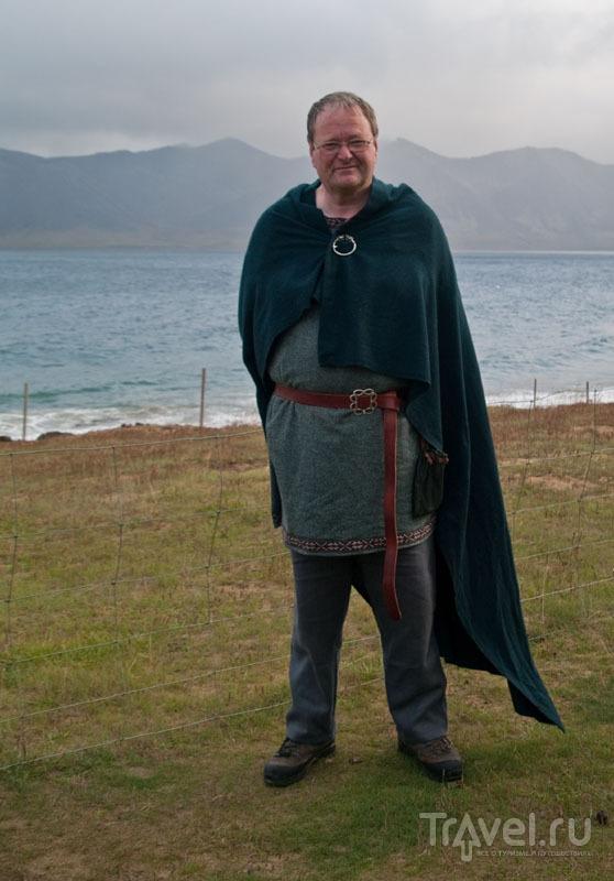 Йон - настоящий исландский викинг / Фото из Исландии