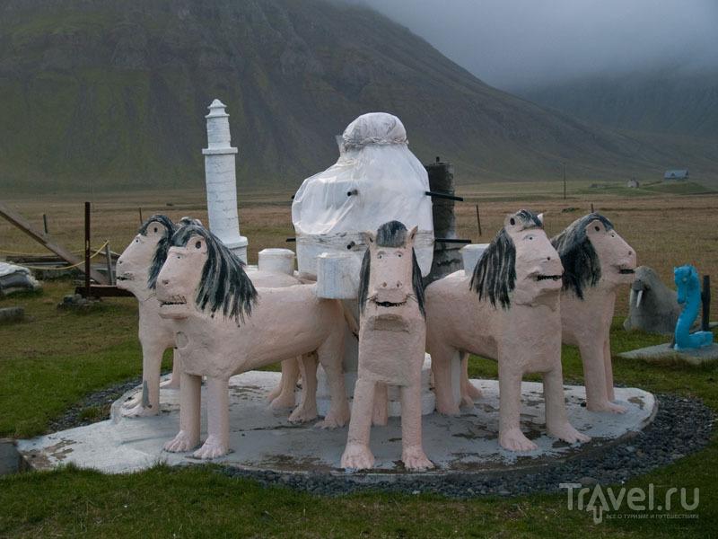 Скульптурная композиция авторства Самюэля Йонссона  / Фото из Исландии
