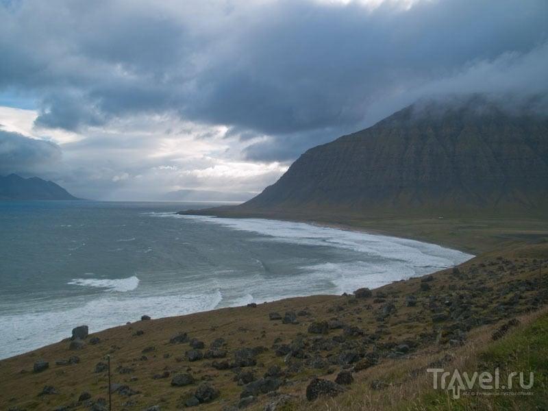 Суровая природа исландских фьордов / Фото из Исландии