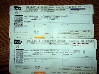 Билет второго класса / Франция