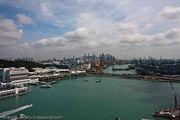 Вид на город / Сингапур
