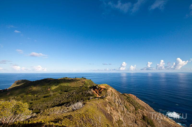 Пейзаж острова Питкэрн / Фото с Питкэрна