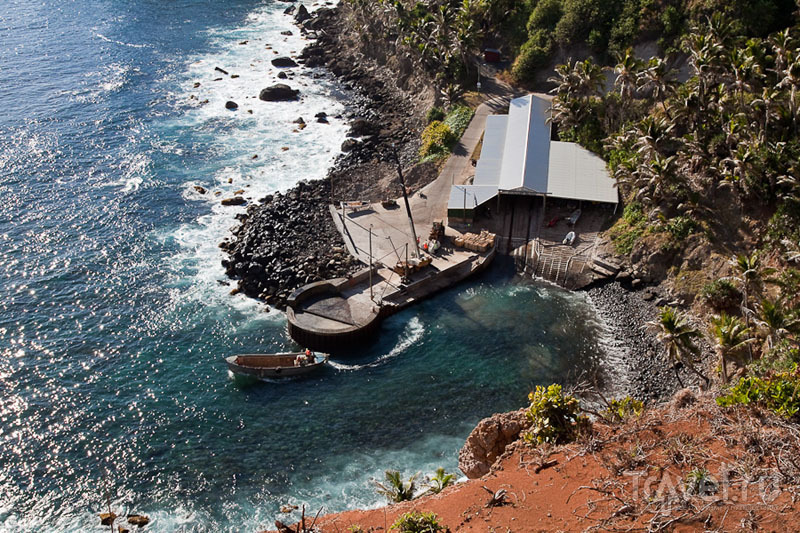 Bounty bay на острове Питкэрн / Фото с Питкэрна
