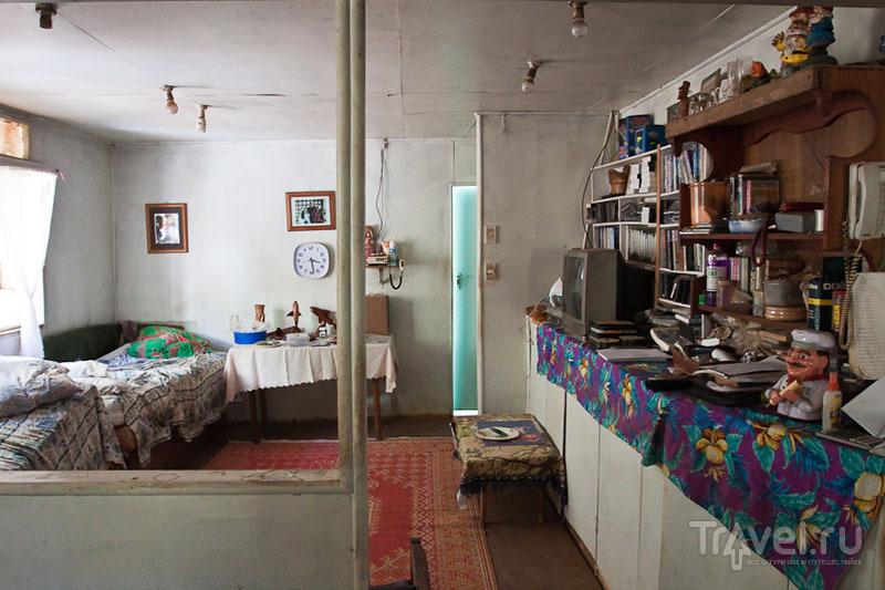 Интерьер жилого дома на Питкэрне / Фото с Питкэрна
