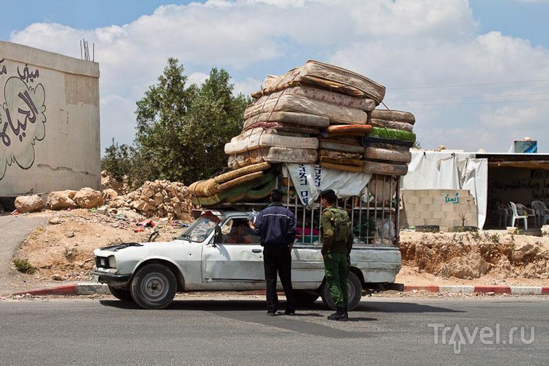 Проверка на палестинском блокпосту / Фото из Палестины