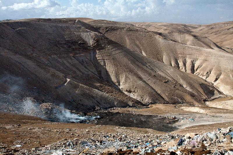 Окрестности монастыря Мар-Саба / Фото из Палестины