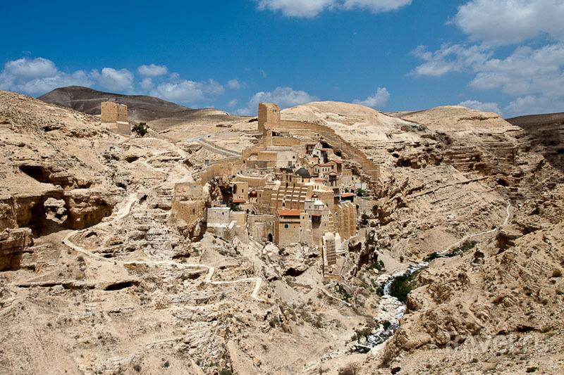 Лавра Мар-Саба в Палестине / Фото из Палестины
