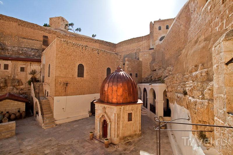 Внутренний двор лавры Мар-Саба в Палестине / Фото из Палестины