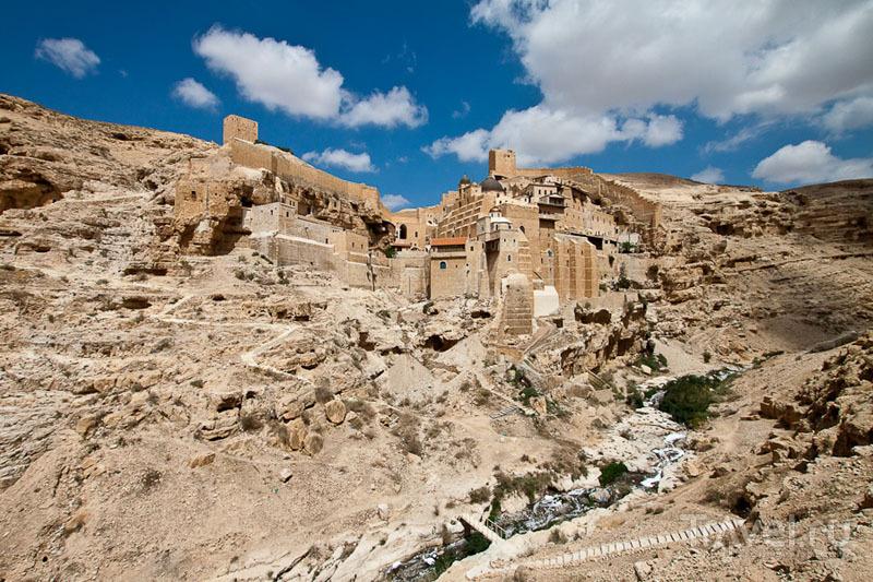 Монастырь Мар-Саба в Палестине / Фото из Палестины