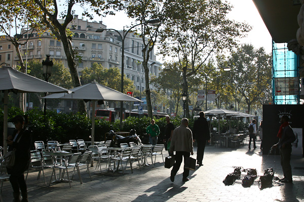 продавец сумок на веревочке / Испания