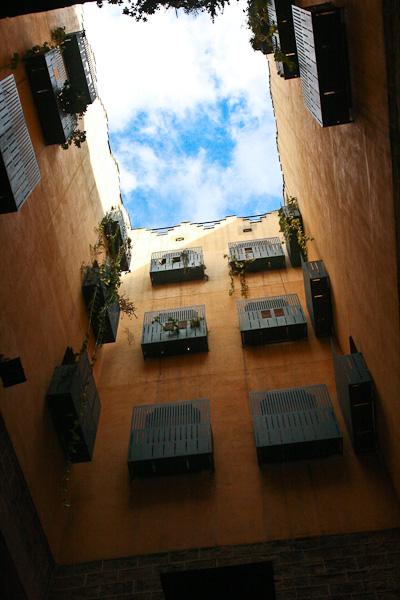 цветные дворы / Испания