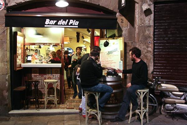 вход в бар / Испания