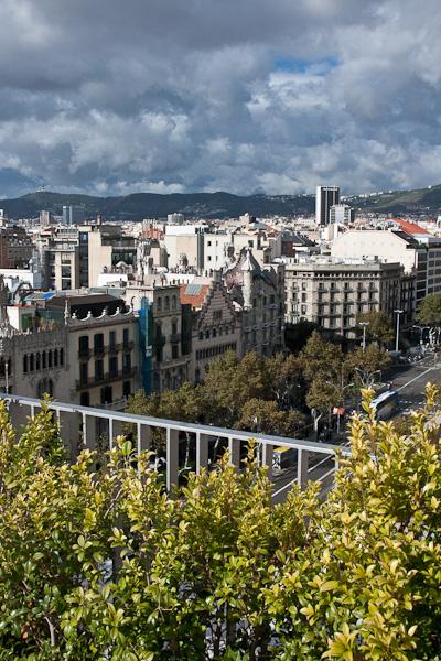 панорама с крыши / Испания