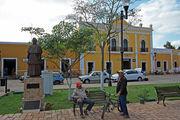 На лавочках / Мексика