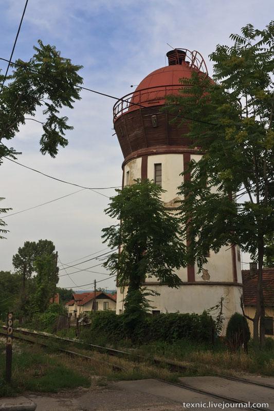 Маяк в Заечаре, Сербия / Фото из Сербии