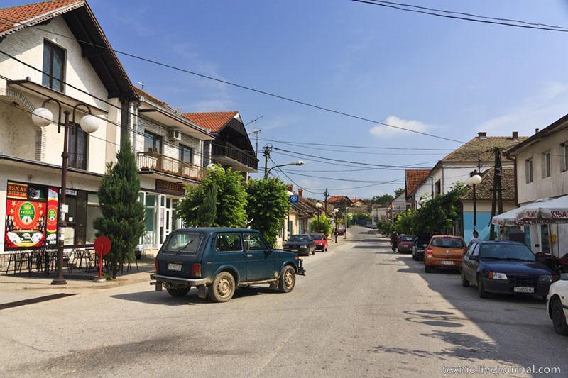 Небольшое селение в Сербии / Фото из Сербии