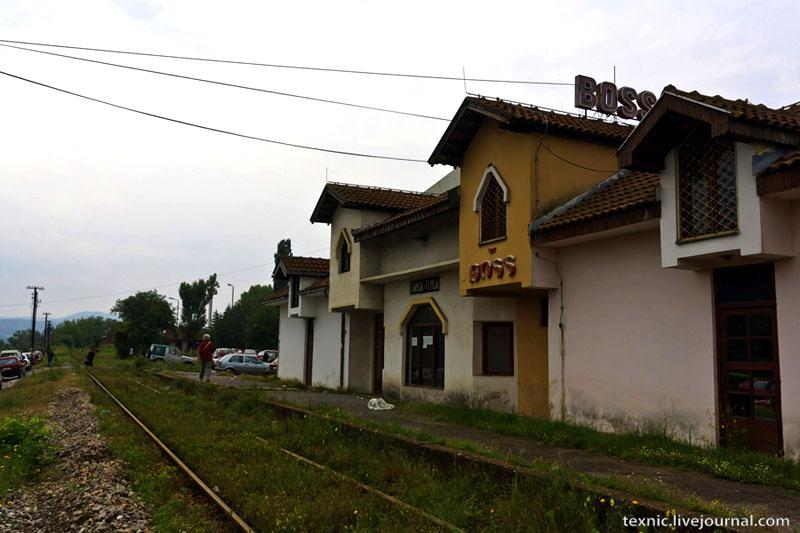 Железная дорога в Заечаре, Сербия / Фото из Сербии