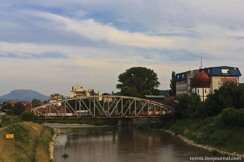 Мост в Заечаре, Сербия / Фото из Сербии