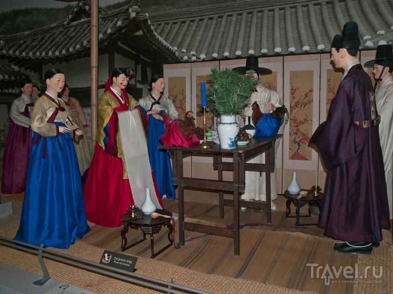 Демонстрация свадьбы в National Folk Museum of Korea / Фото из Южной Кореи