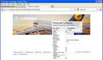 сайт Lufthansa / ЮАР