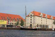 вид на  город и каналы / Дания