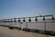 понтонный мост / Узбекистан