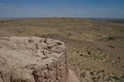 вид на окружающую пустыню / Узбекистан