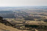 деревни прикрыты маревом / Германия