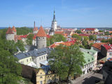 Вид на Старый город / Эстония