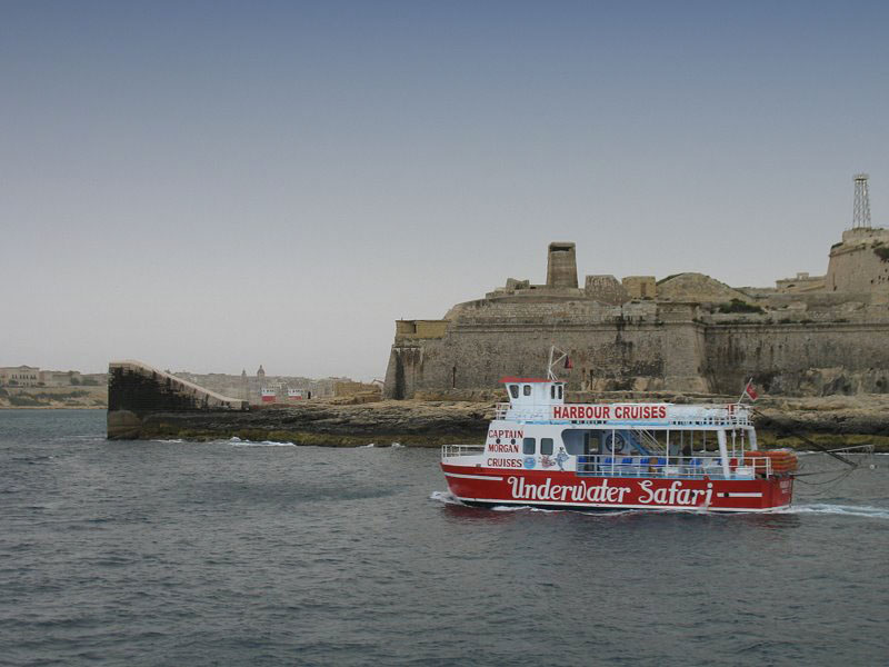 Круизный пароходик, Мальта / Фото с Мальты