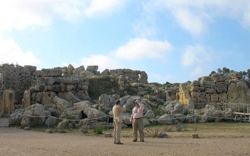 Мегалитические храмы Джгантия / Фото с Мальты