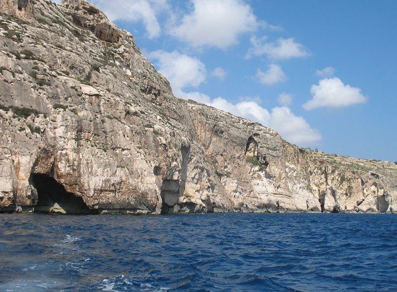 Начало пути в Голубой грот / Фото с Мальты