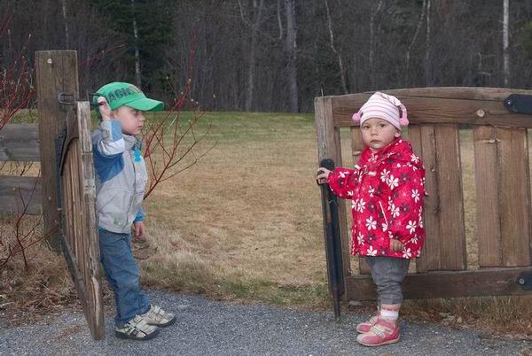 Ворота кемпинга в Норвегии / Фото из Норвегии