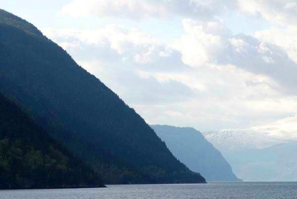 Фьорд в Норвегии / Фото из Норвегии