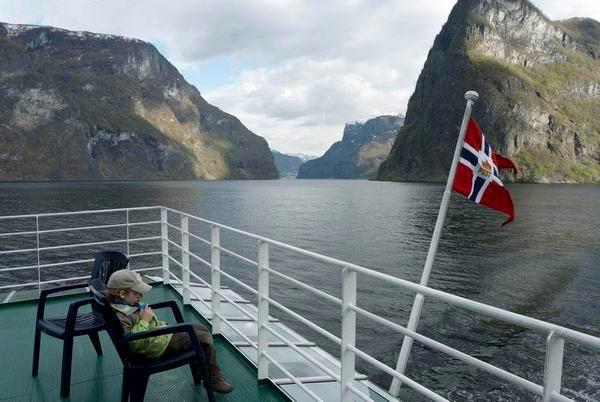 На пароме / Фото из Норвегии