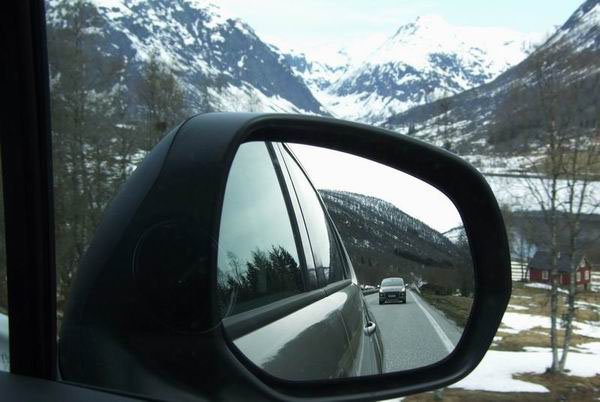 Автомагистраль в Норвегии / Фото из Норвегии