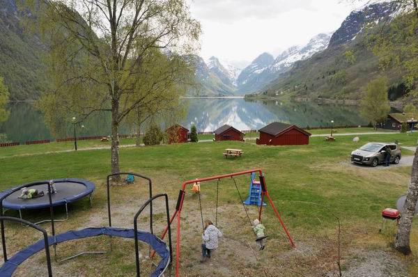 Детская площадка у Оллена в Норвегии / Фото из Норвегии