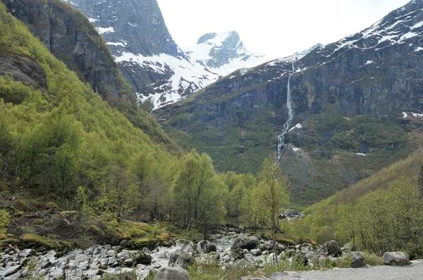 В горах Норвегии / Фото из Норвегии