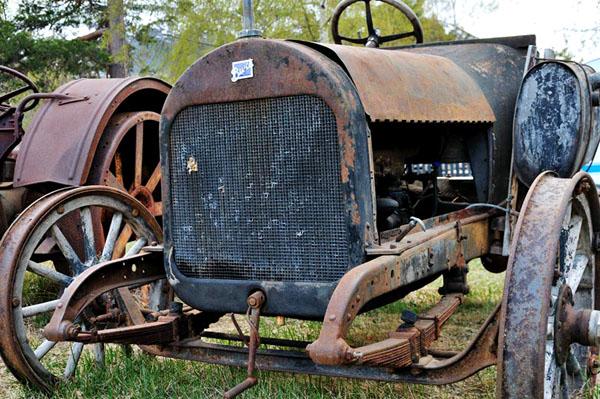 На выставке тракторов в Норвегии / Фото из Норвегии