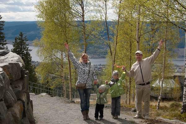 Участники велопробега по Норвегии / Фото из Норвегии