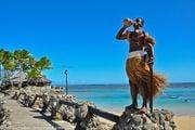 живая статуя / Фиджи