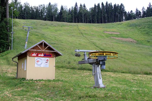 Прокат лыж в Марианске-Лазне / Фото из Чехии