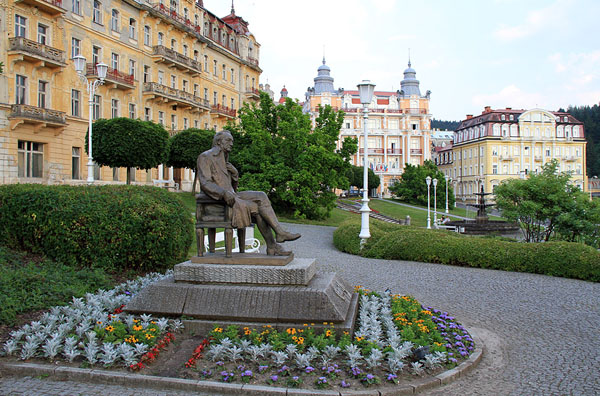 Памятник Гёте в Марианске-Лазне / Фото из Чехии