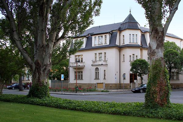 Дома в городе Подебради / Фото из Чехии