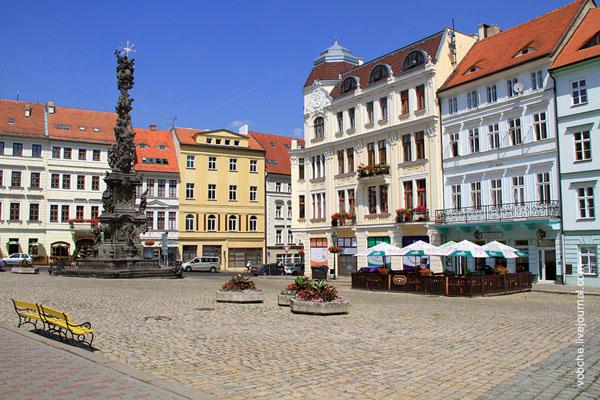 Замецкая площадь в городе Теплице / Фото из Чехии
