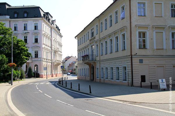 В чешском городе Теплице / Фото из Чехии
