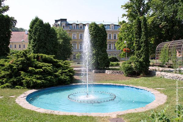 Парк в городе Теплице / Фото из Чехии